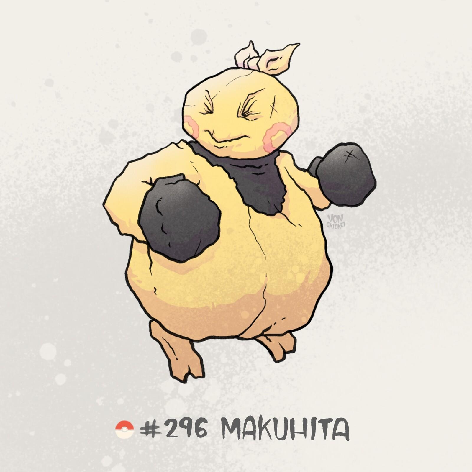 #296 Makuhita