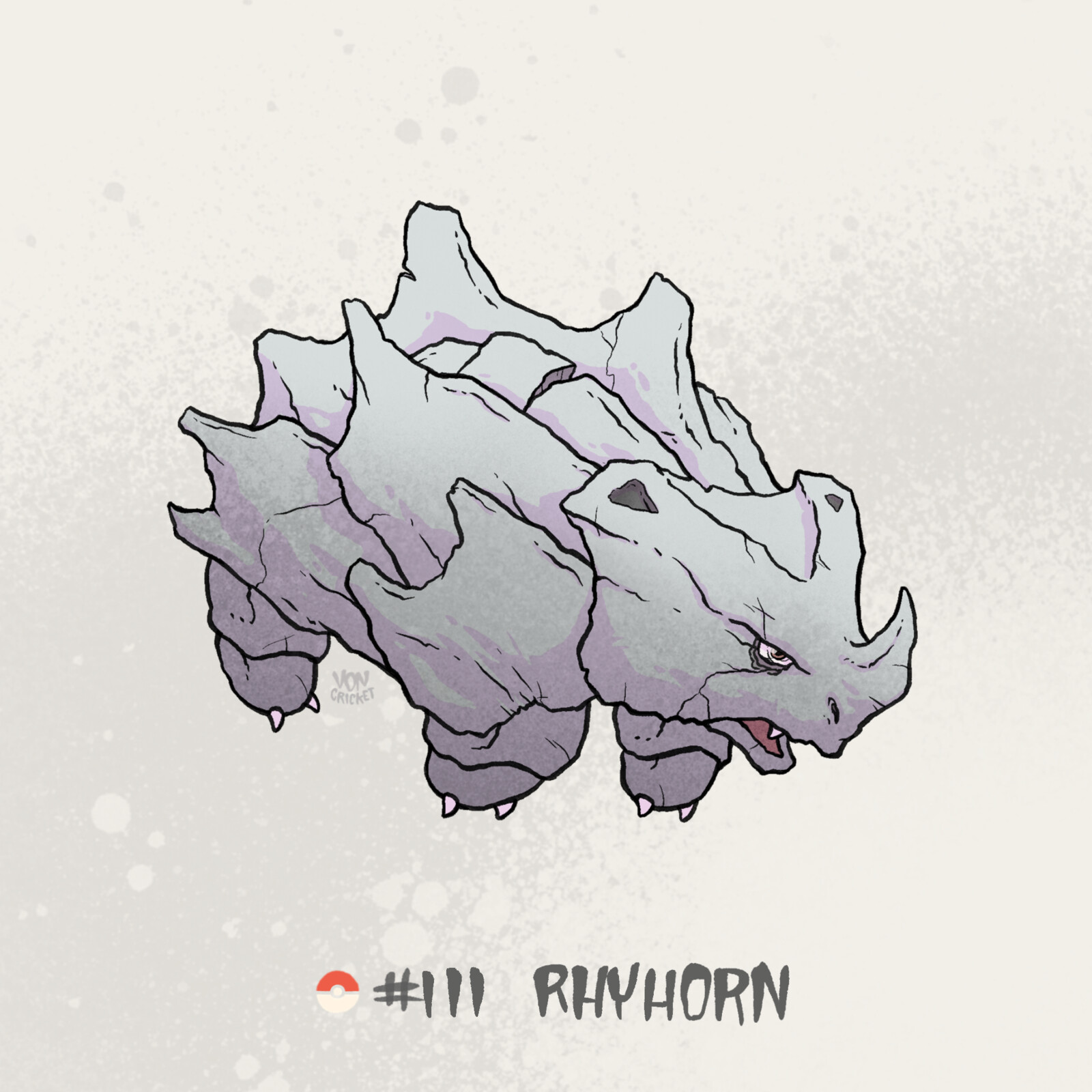 #111 Rhyhorn