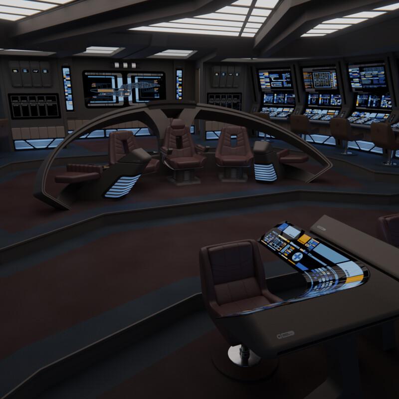 USS Odyssey NCC-2016 Bridge