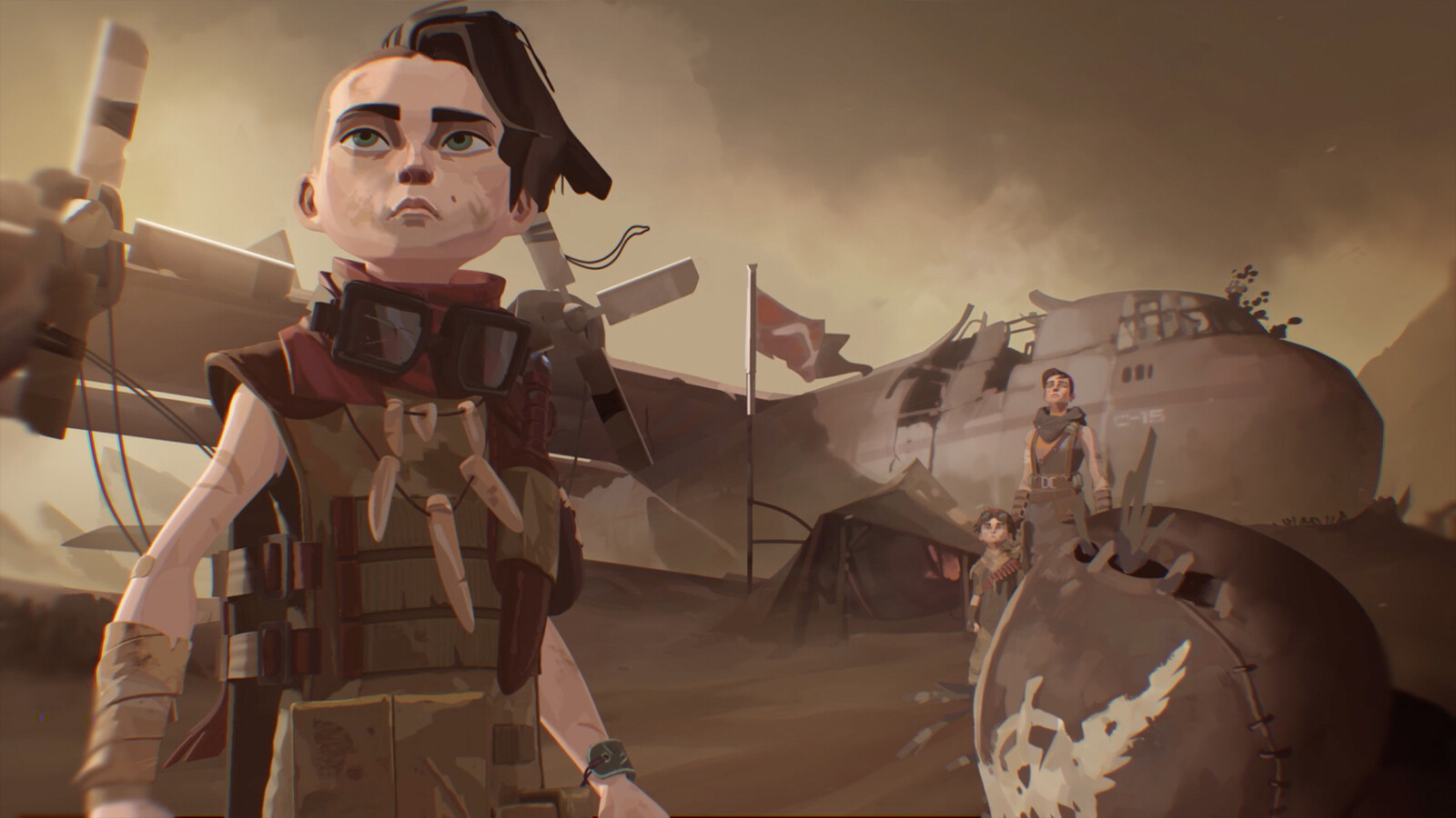 Final frame I art Directed and painted, initial visual development by Pedro Kruger