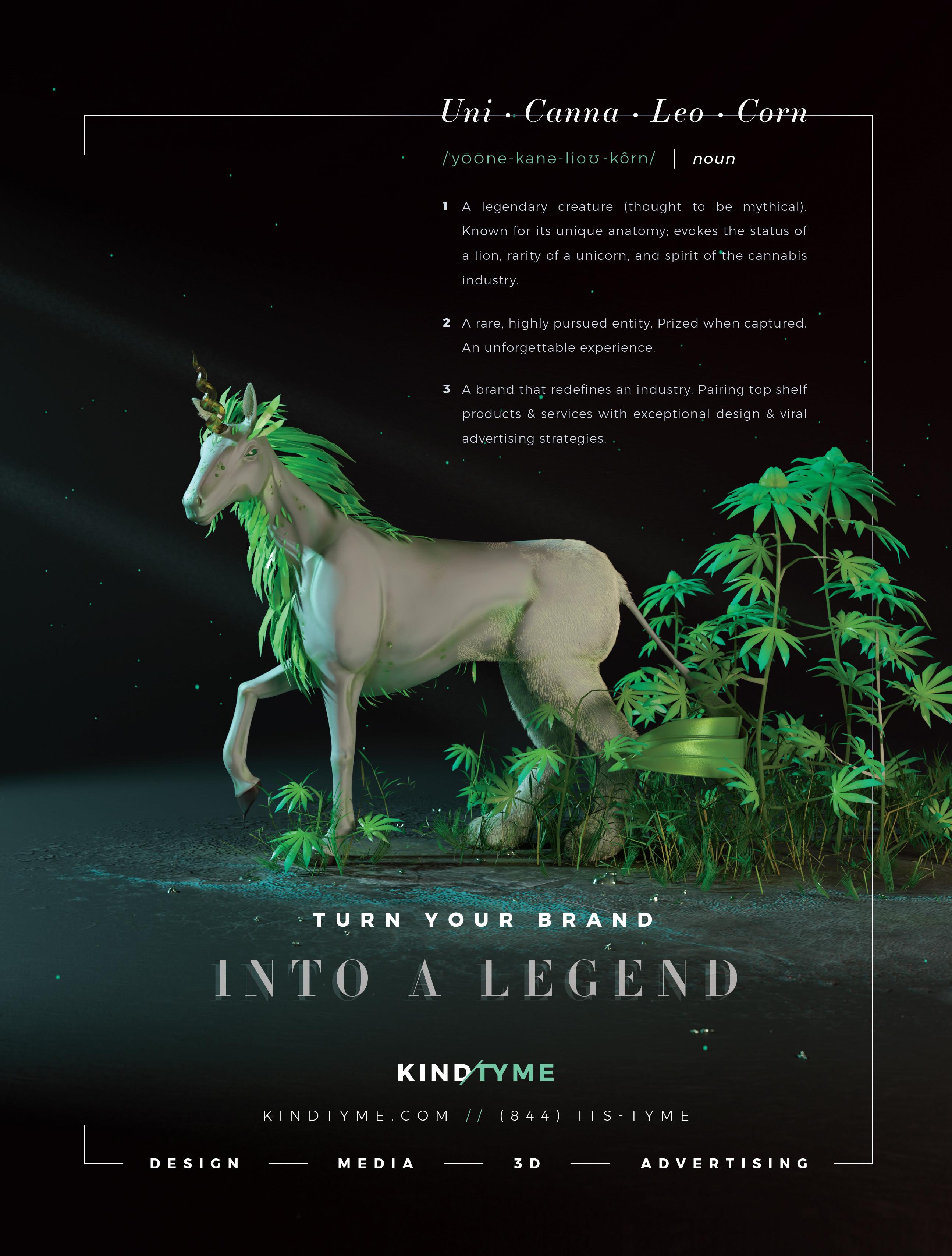 Marijuana Venture Ad Design