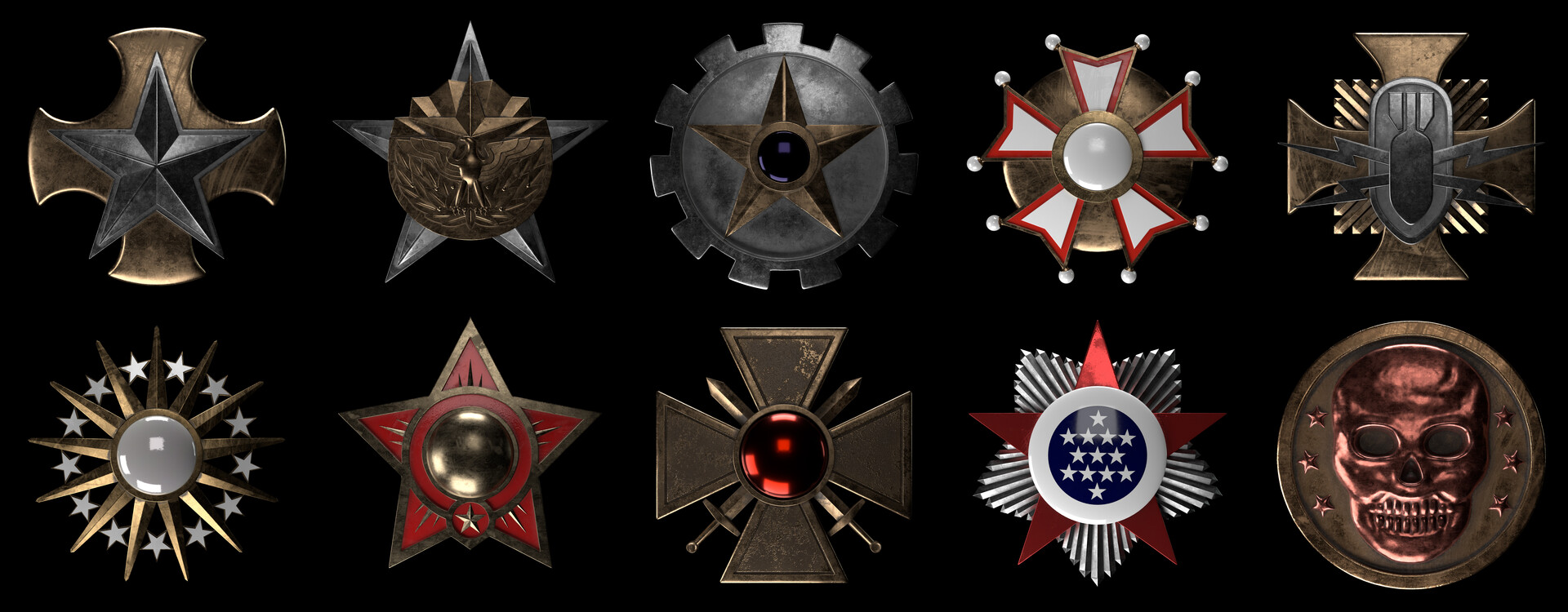 Artstation Modern Warfare 2 Prestige Emblems Remaster Christopher Georgiou