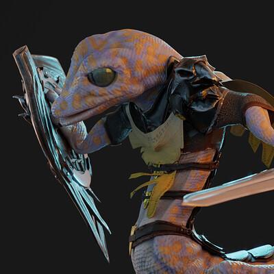 Tom breuer geckowarrior detail5