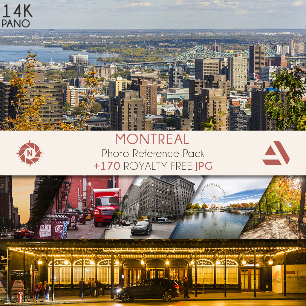 Photo Reference Pack: Montreal  https://www.artstation.com/a/165884