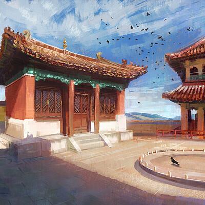 Madeleine bellwoar mongolia monastery s