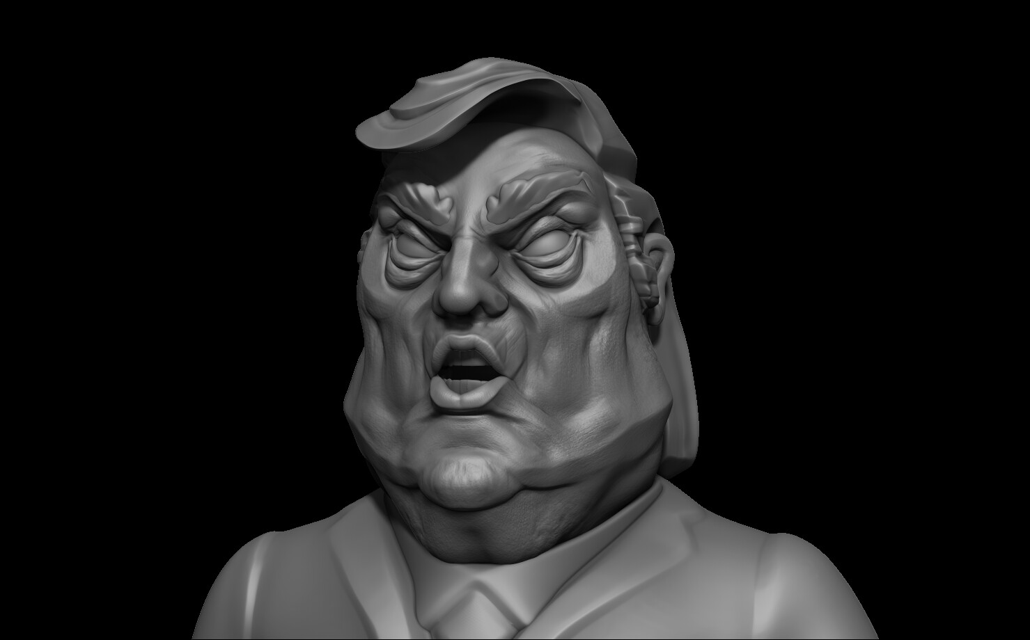 here's the high-poly version
