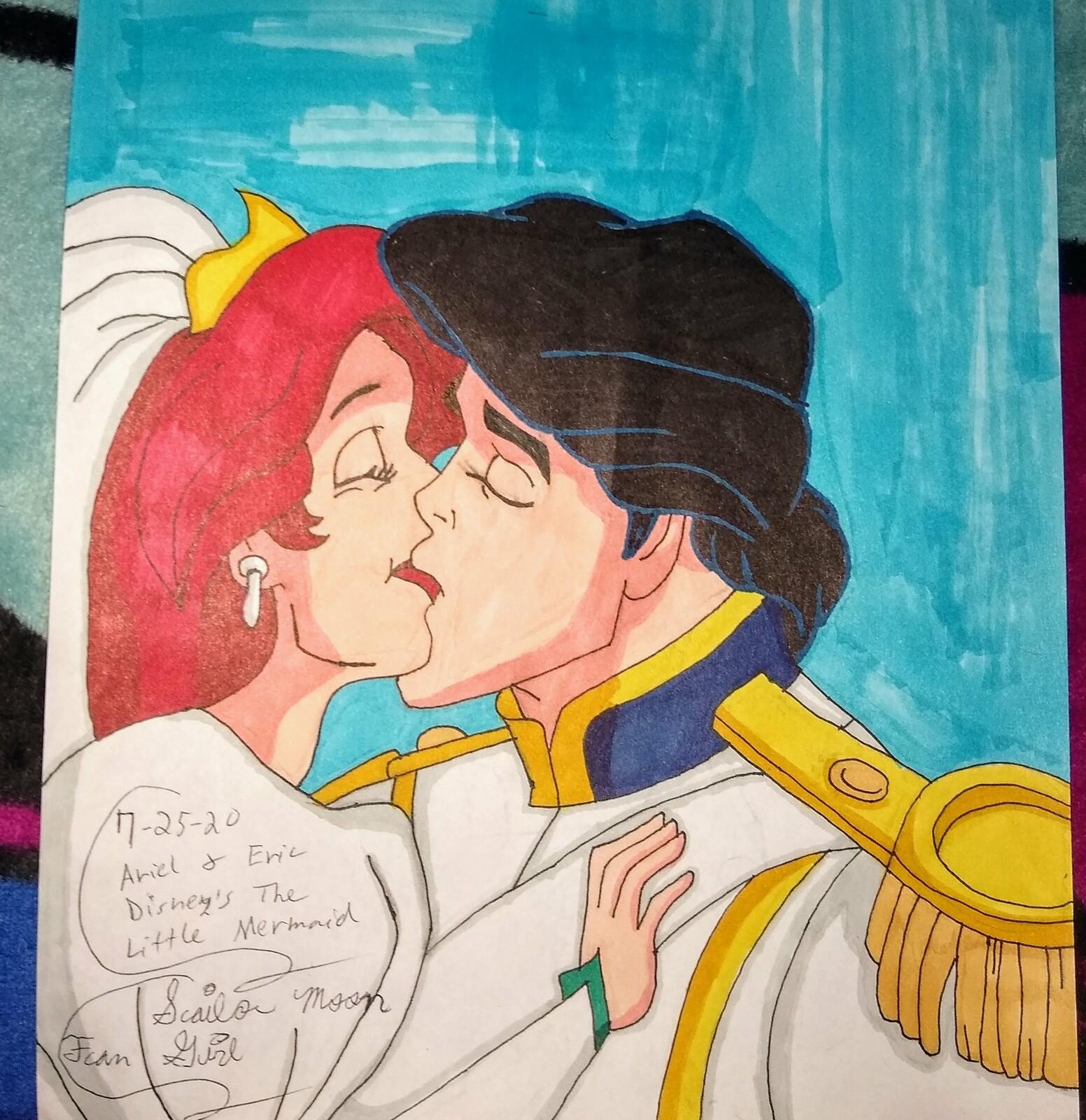 Artstation Disney S The Little Mermaid Ariel And Eric 1 Kimberly Holtzman