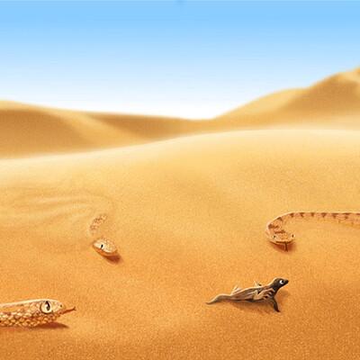 Estince voi animals finding food 4