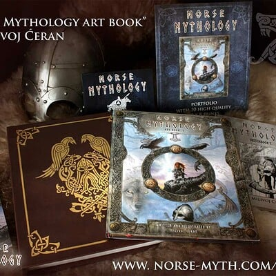 Norse Mythology art book project