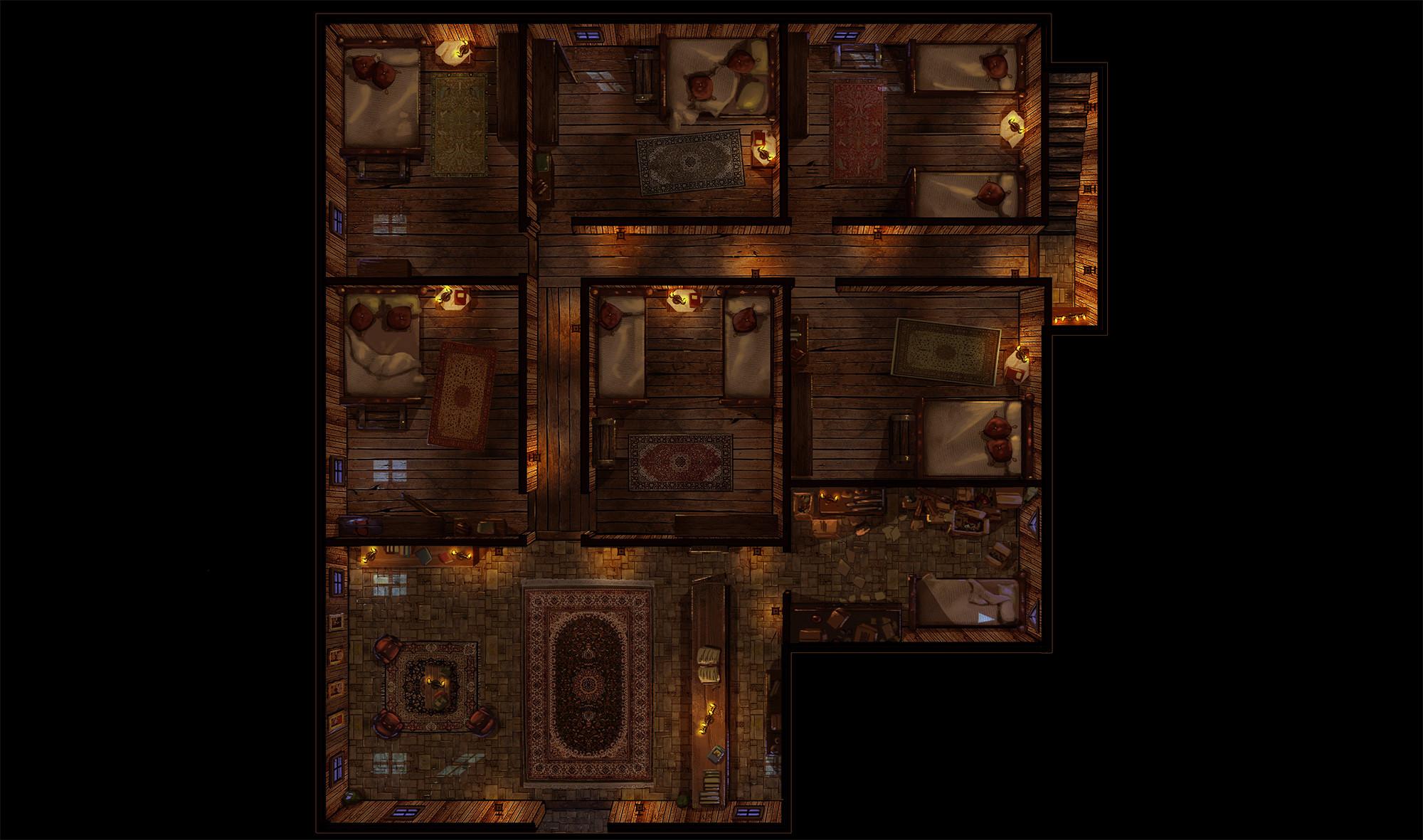 Hotel 1st floor