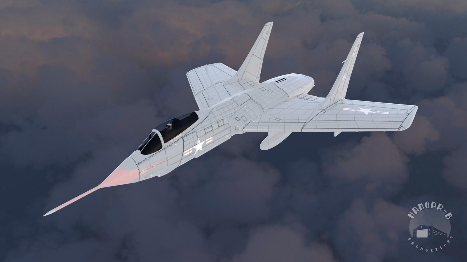 F7U Cutlass Model Textures