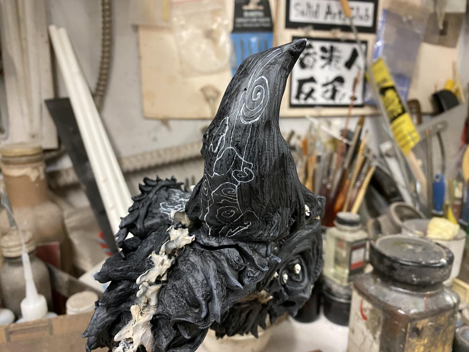 轩辕冢  Fox Girl Reincarnation Art Statue W.I.P. https://www.solidart.club/