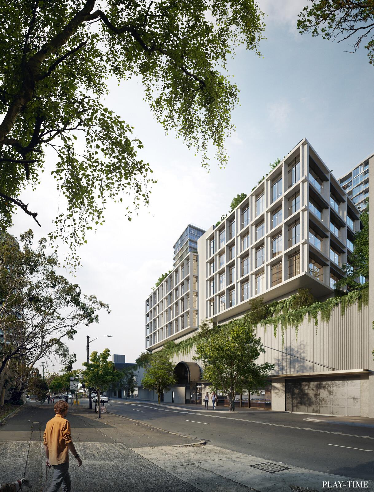 New Emerald City Green Square