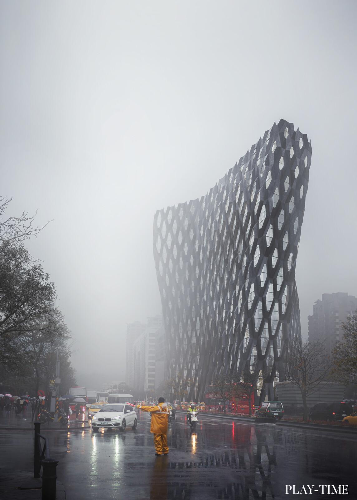 Smart mesh building