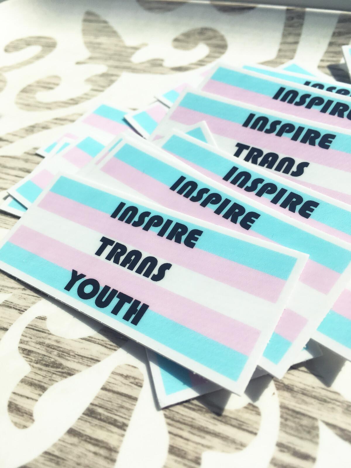 Trans-positive sticker design.