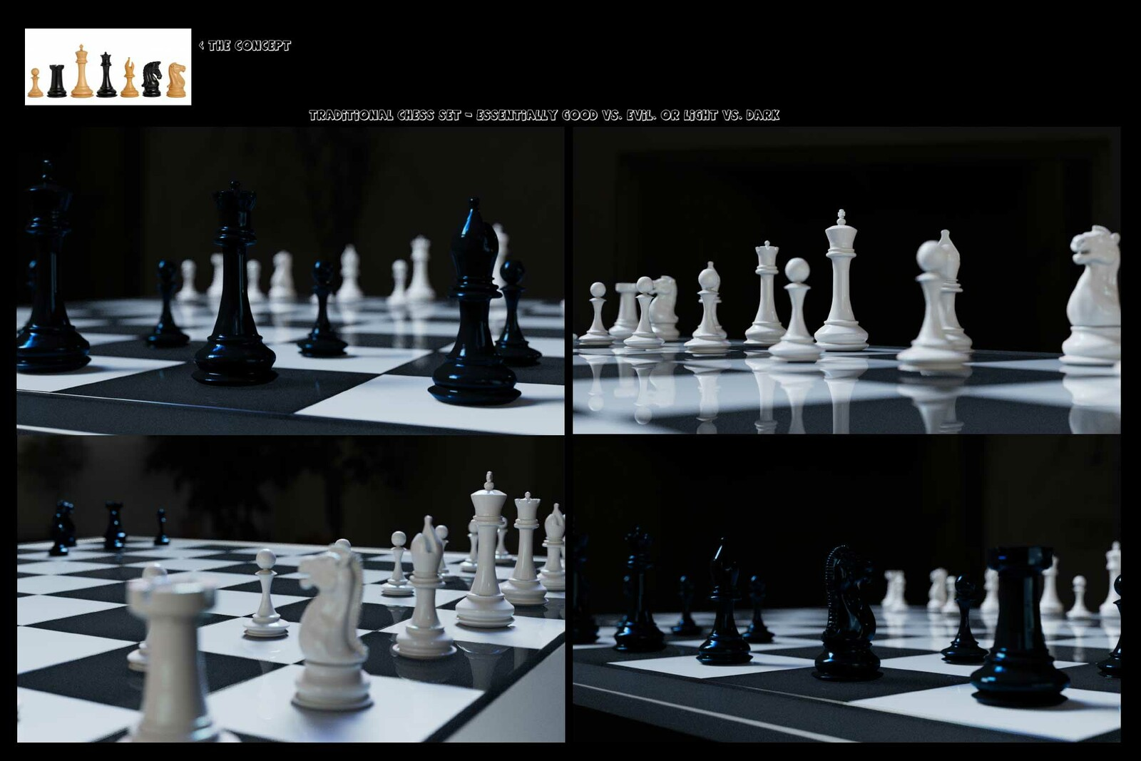 chess game  renders
