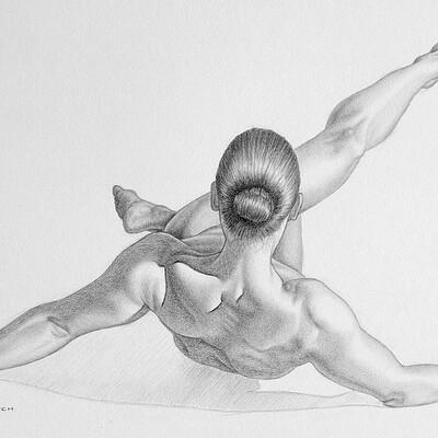 Juraj mlcoch drawing 40 juraj mlcoch estera 4