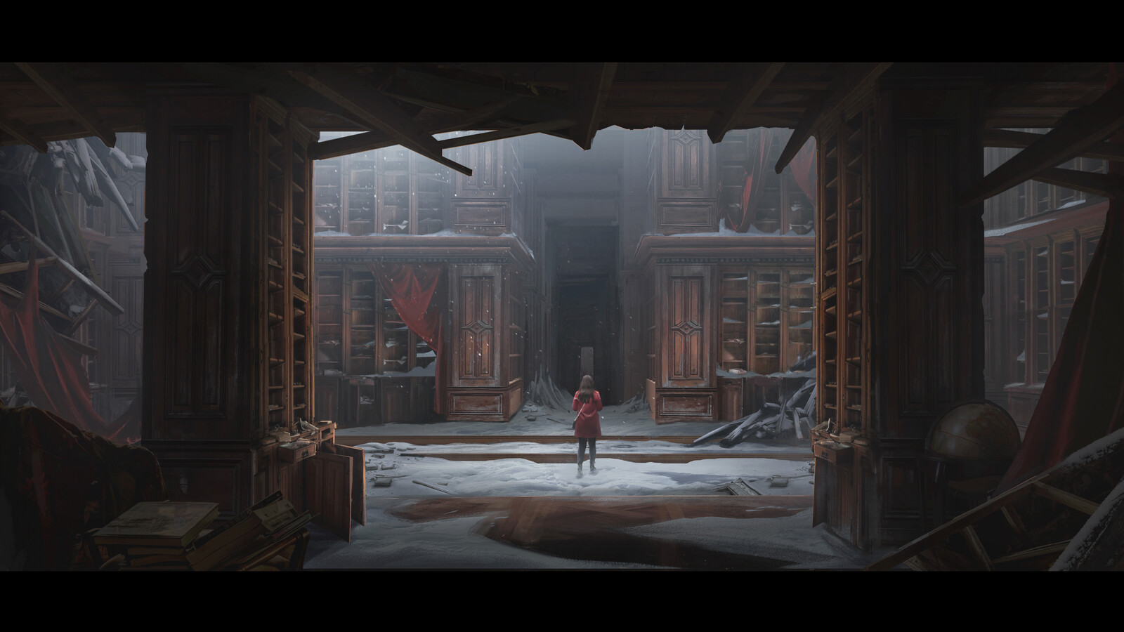 Abandoned Library - Class Demo