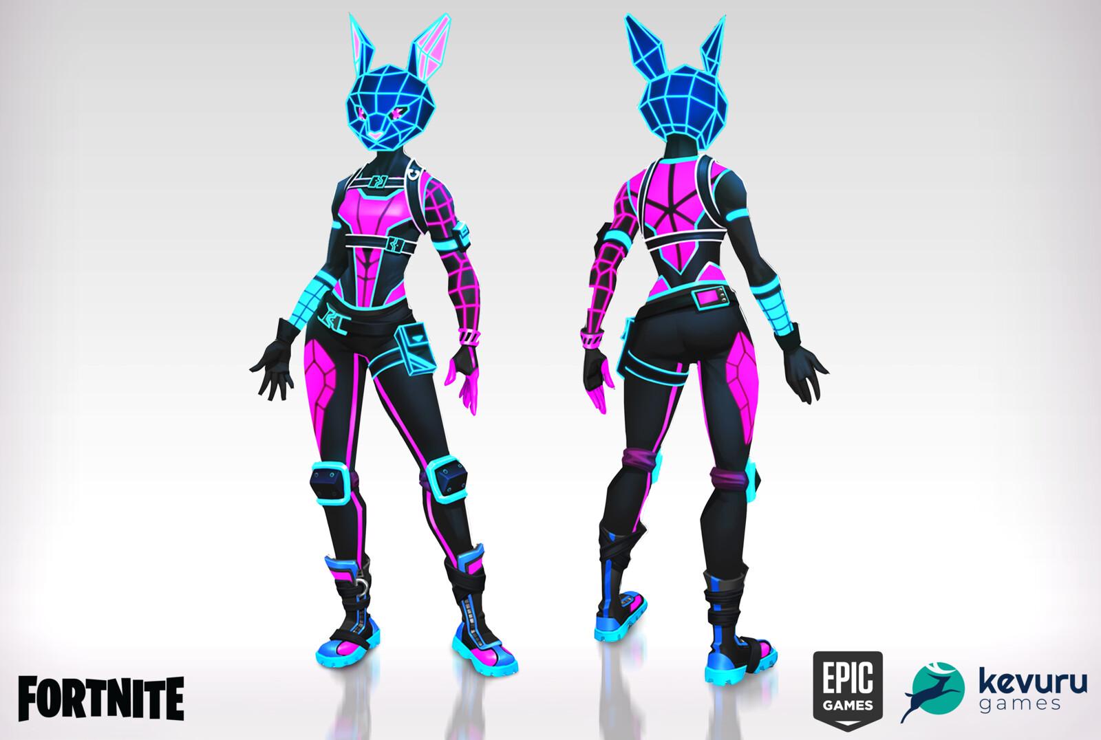 Fortnite Bunnywolf Concept Art