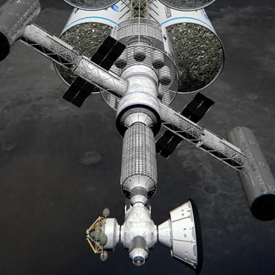 Seth pritchard hyperion lunarorbit