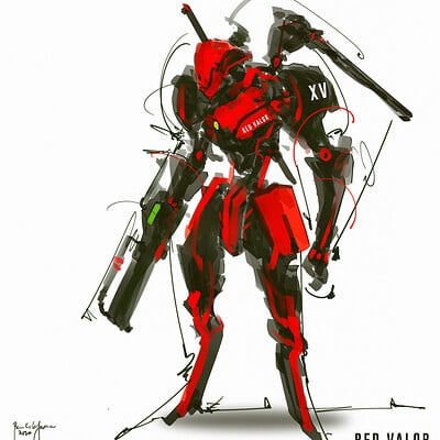 Benedick bana red valor final c