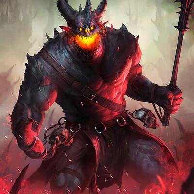 Eryk szczygiel demons typhonart wwg 1