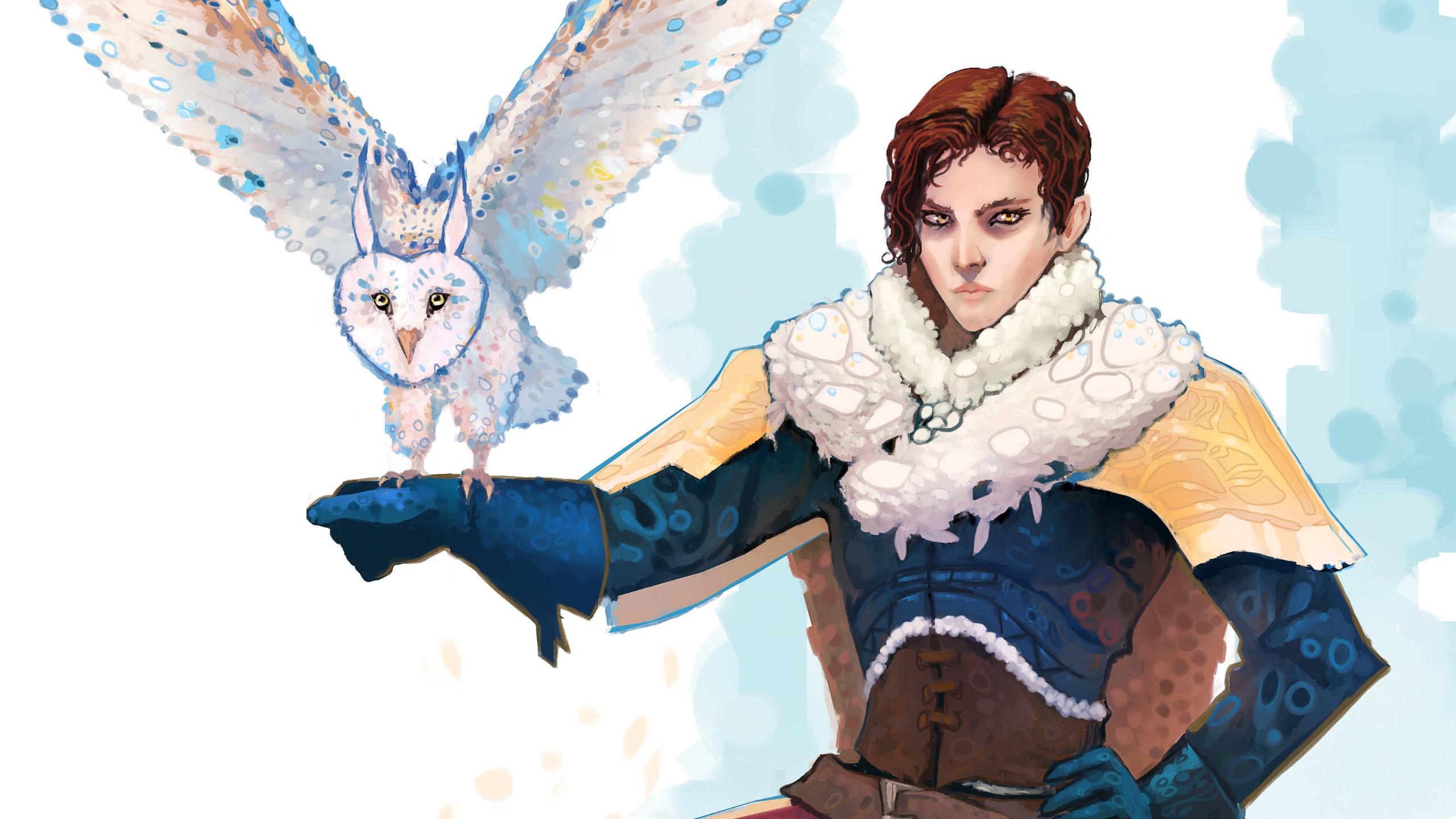 Owl Master (detail)