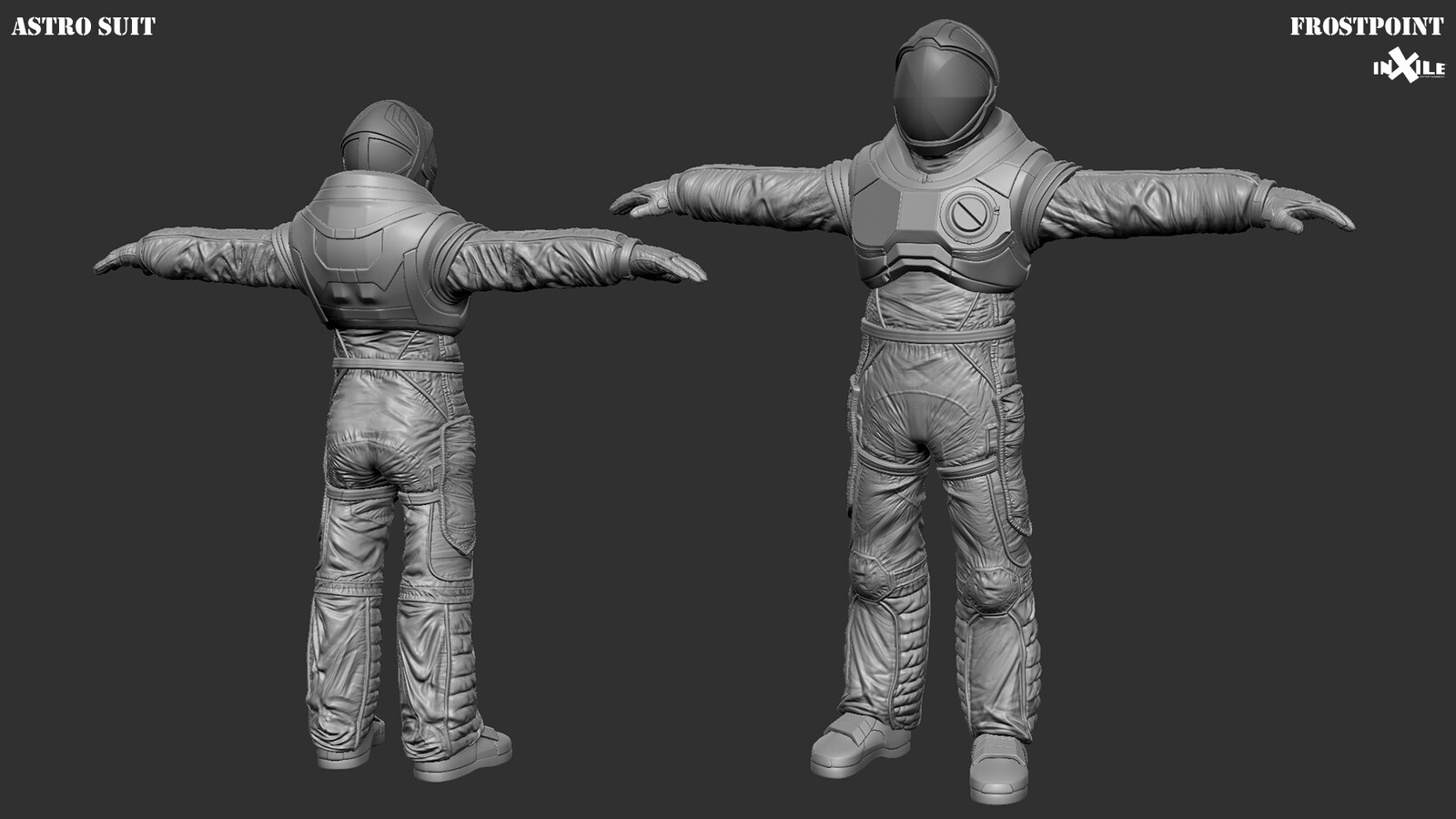 Integration and polish/edits of sculpt, model, and textures by me Original asset by Sergio Santos