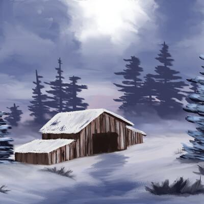 Masato lin bobross snow final