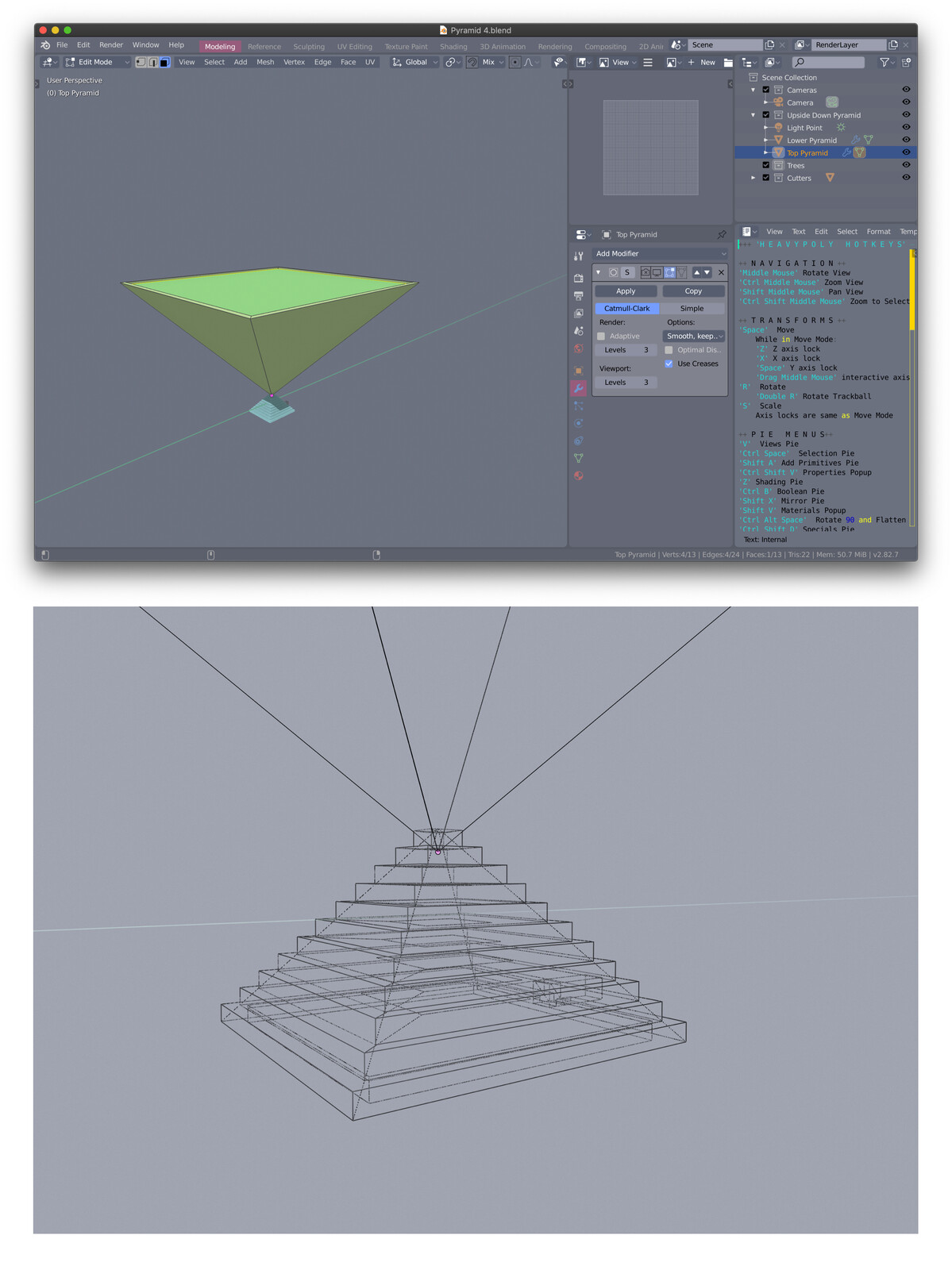 3D modeling of structure. I've never used Blender before but it's pretty easy to learn the basics, and seems like you can do a lot with it!
