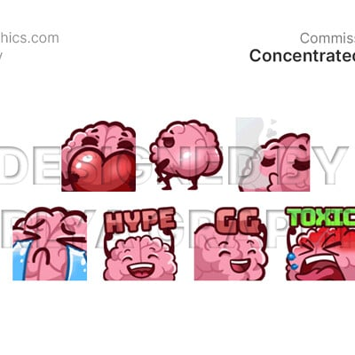 Aerlya graphics sample concentratedmind emotes