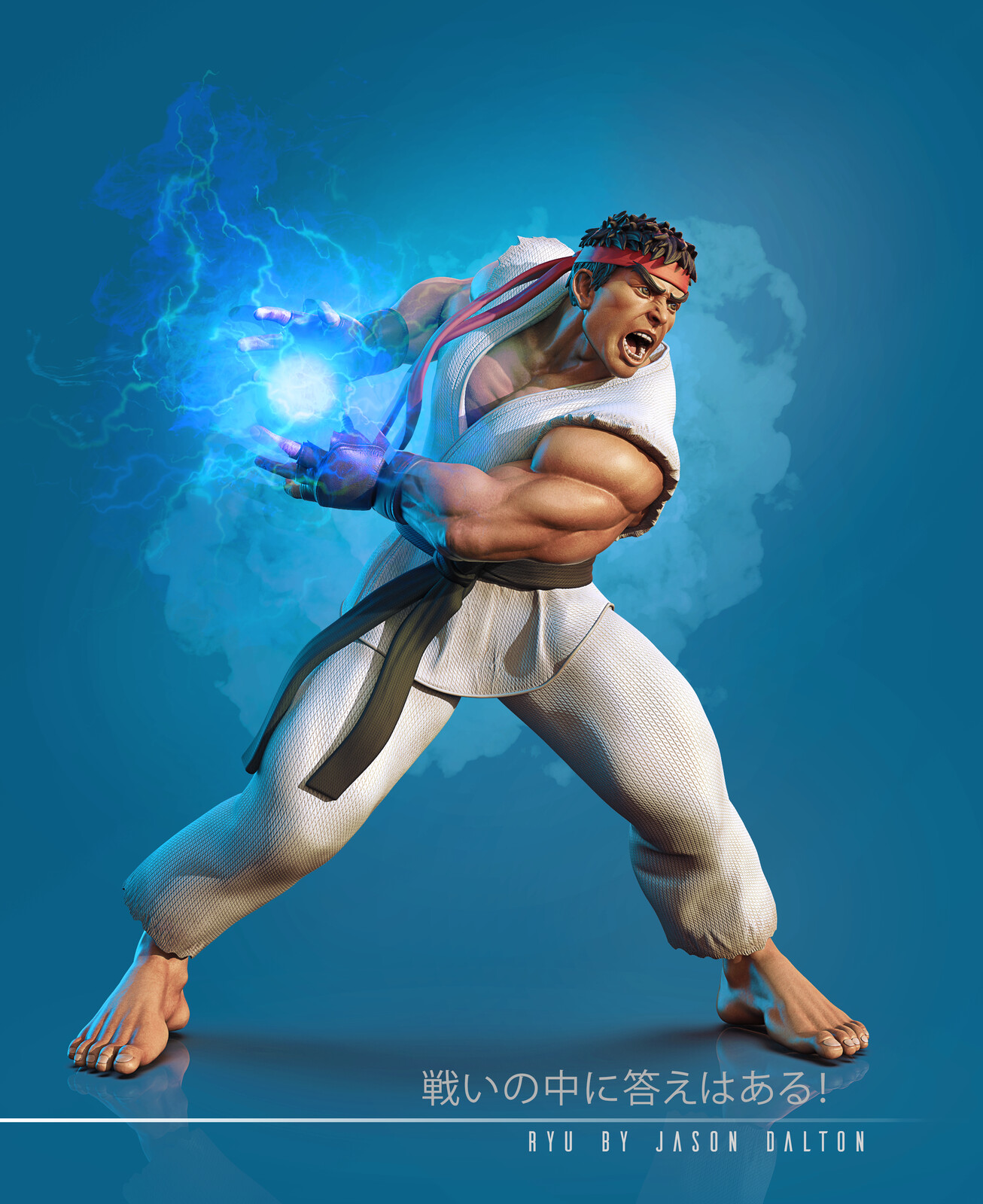 Ryu - Street Fighter for 3D Print