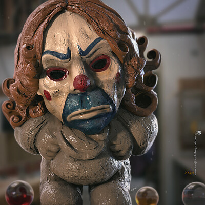 Surajit sen jokerx digital sculpture surajitsen aug2020a