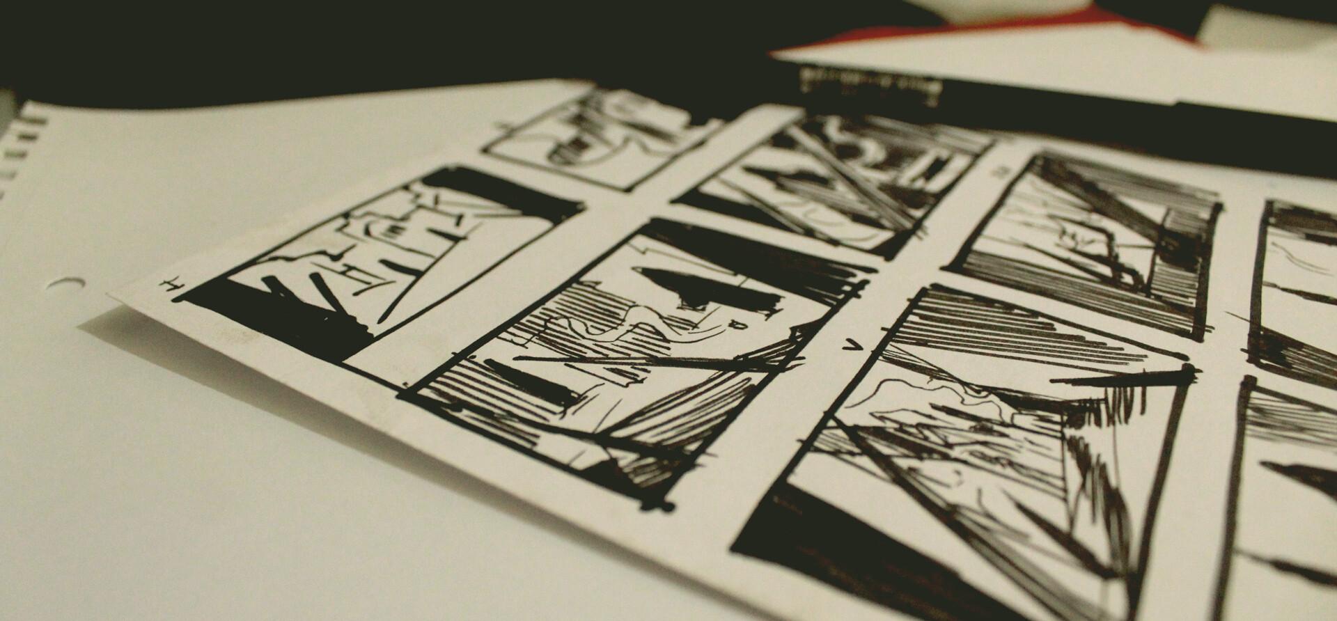 Rough compositional sketches