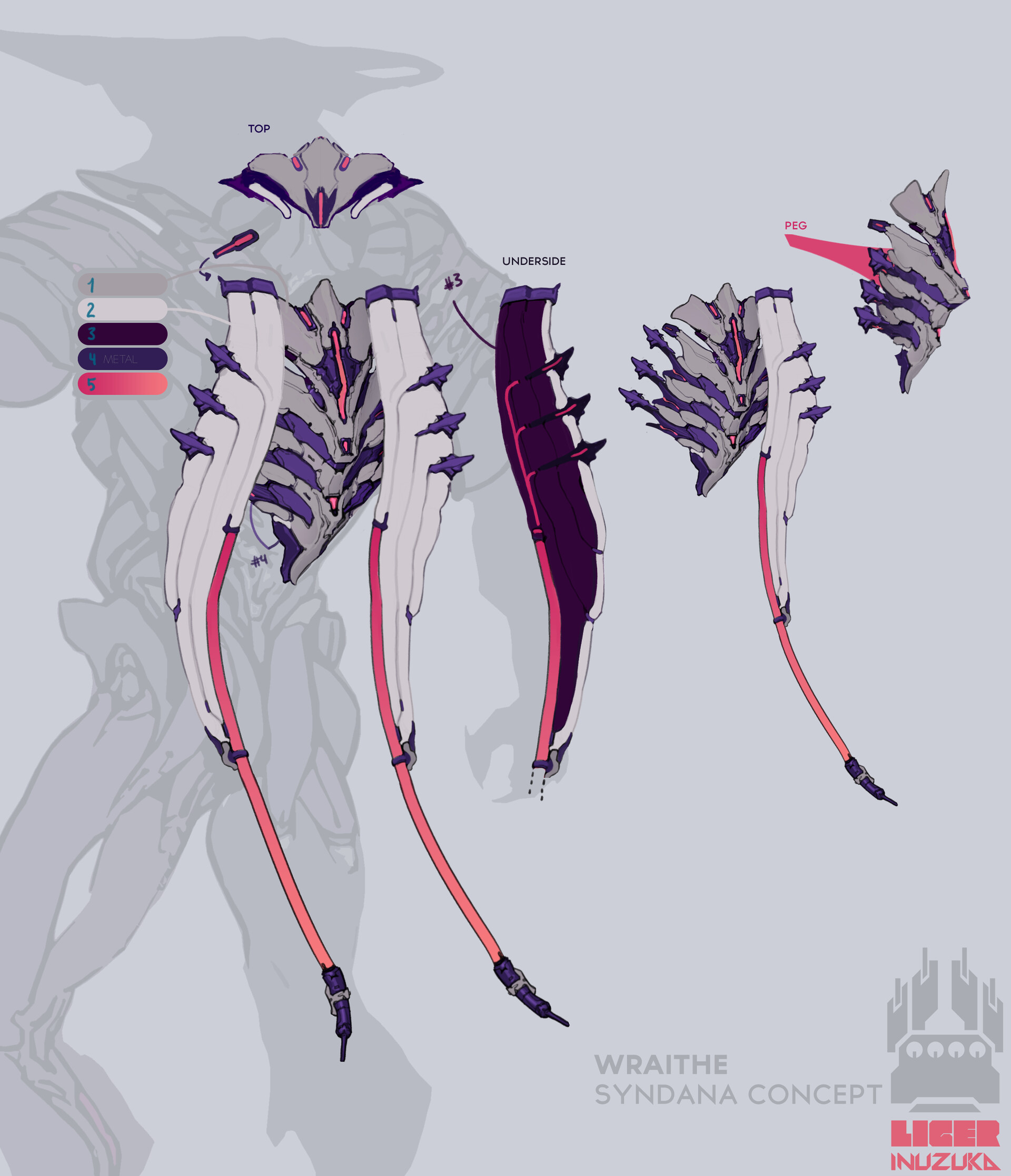 Wraithe's cosmetic syndana