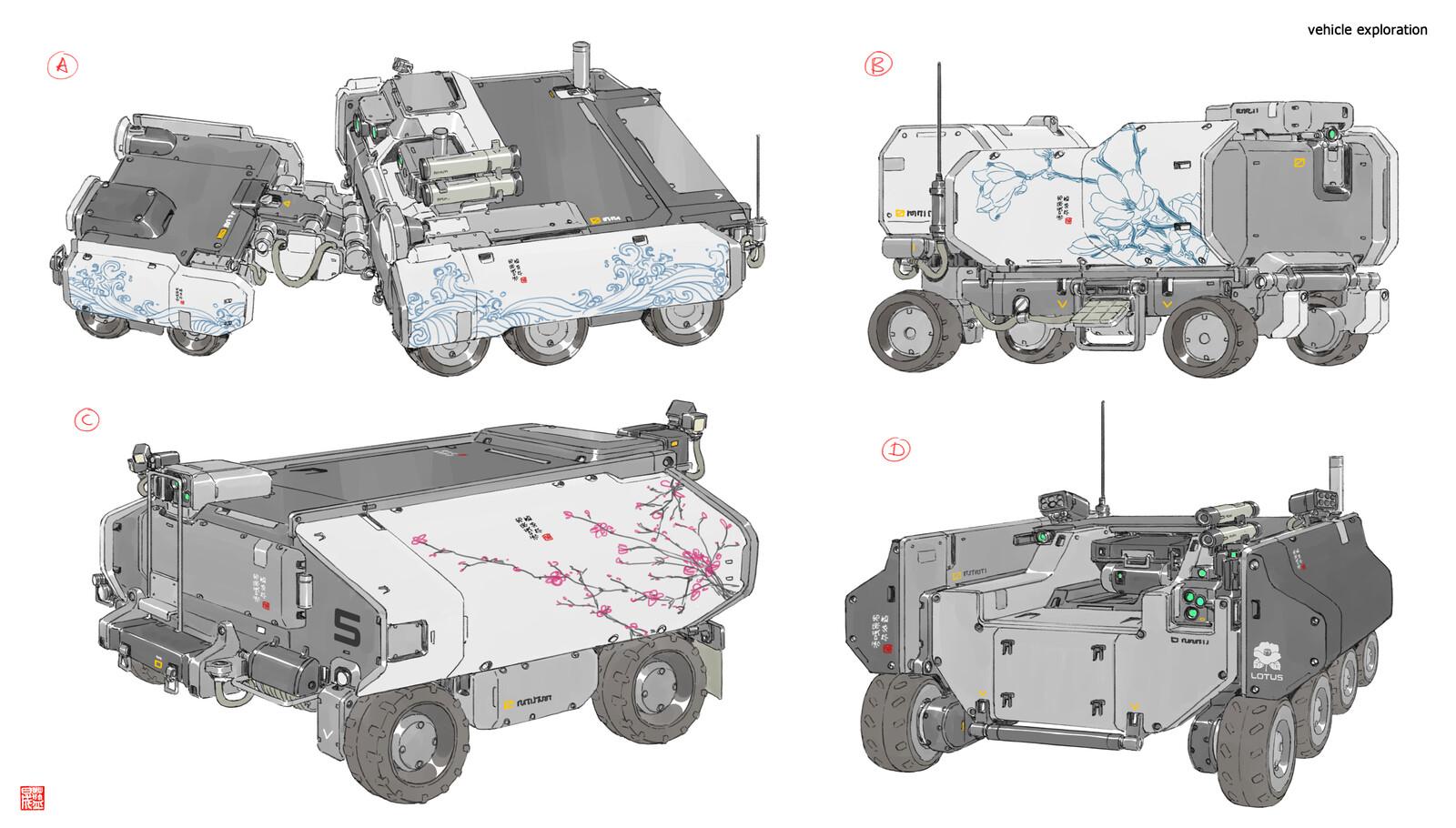 vehicle exploration