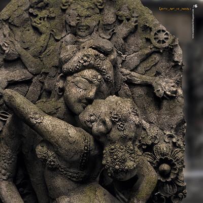 Surajit sen erotic art of india2 1 digital sculpture surajitsen aug2020a