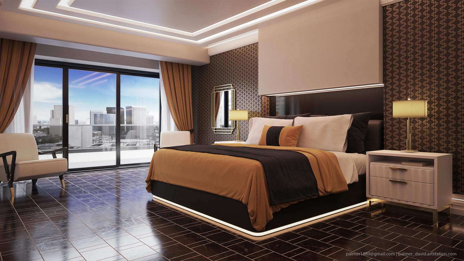 Hotel Room W/King