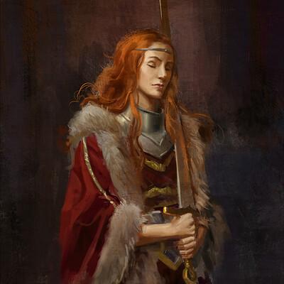 Leonardo santanna painting study