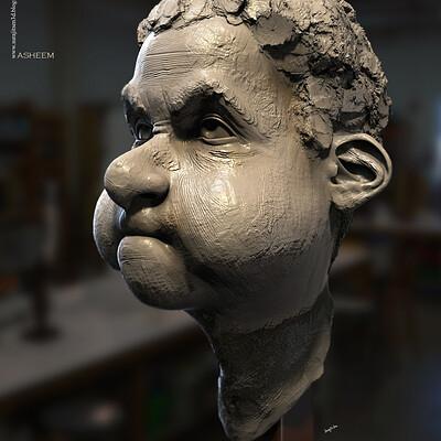 Surajit sen asheem digital sculpture surajitsen aug2020a