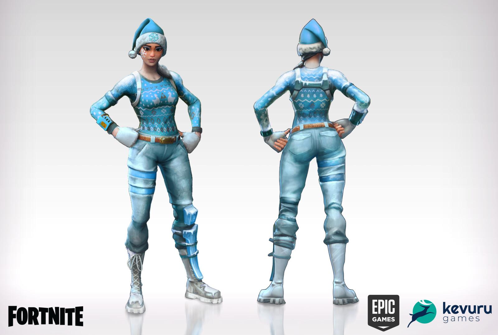 Fortnite Frozen Nog Ops Concept Art