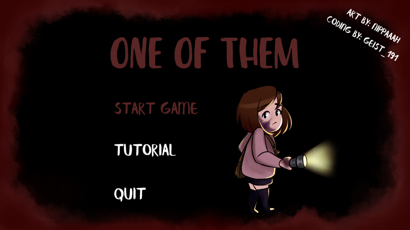 Gamejam version - main menu