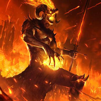 Eryk szczygiel demons typhonart wwg 6