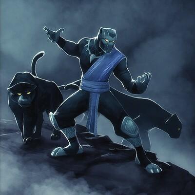 Arjun somasekharan black panther