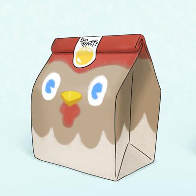 Amir dror chicken lunch box package
