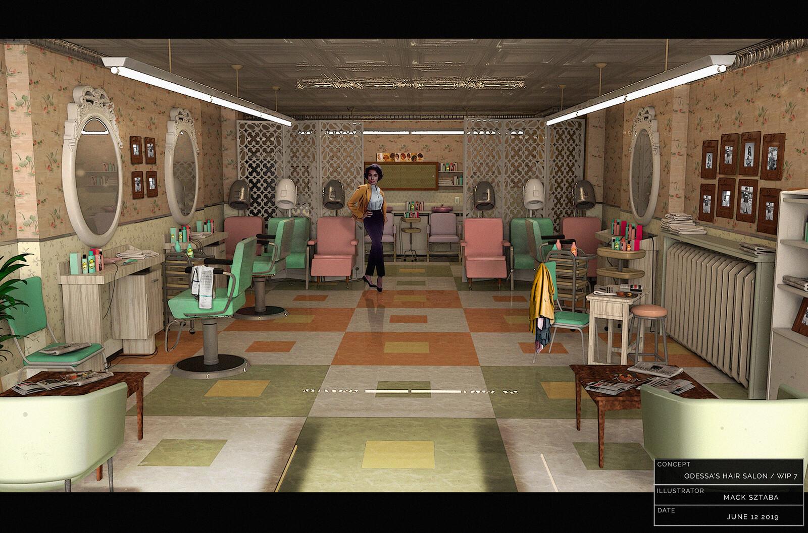 Umbrella Academy  (Odessa's Hair Salon)