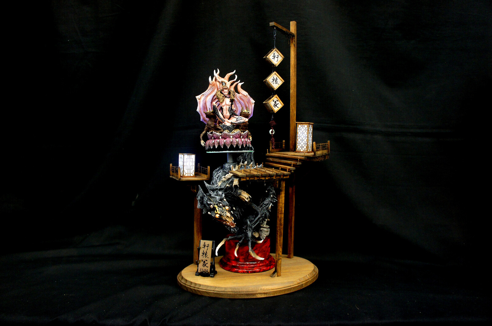 轩辕冢  Fox Girl Reincarnation Art Statue  https://www.solidart.club/