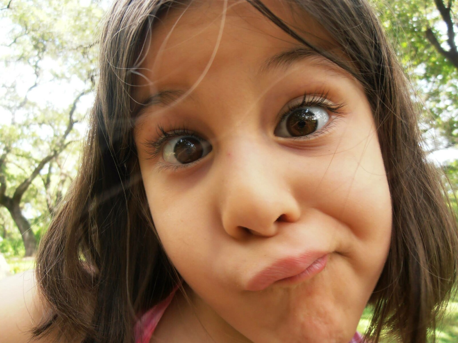 Original Photograph of my oldest Daughter Lila when she was about 5