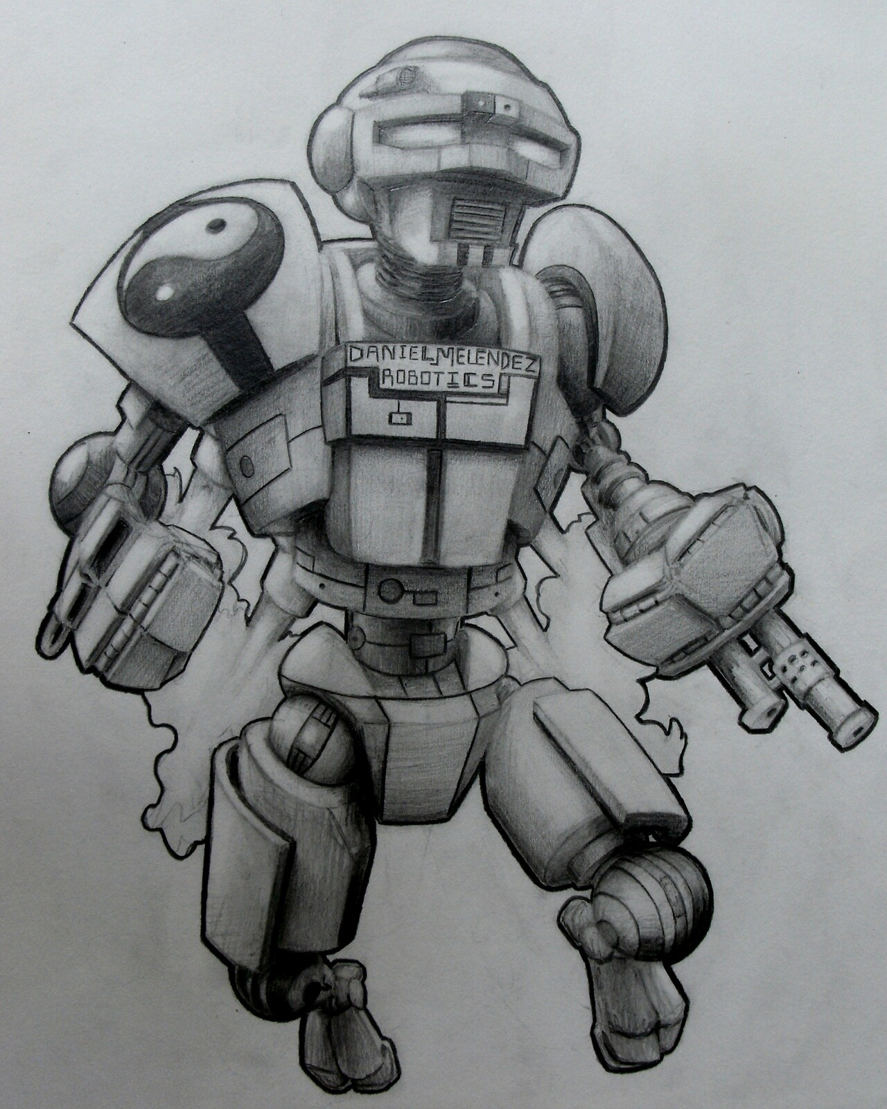 Robot I drew in 2011