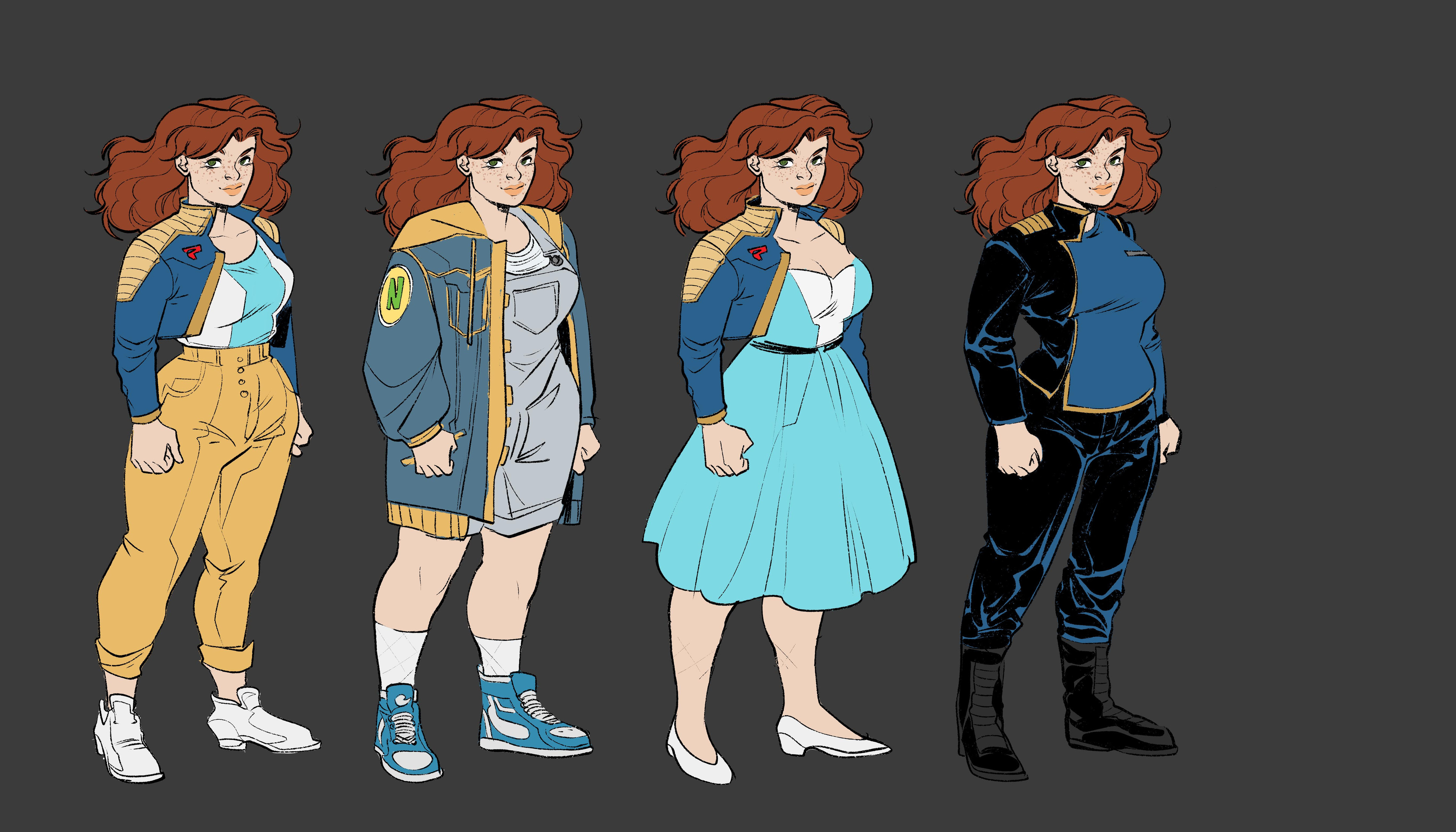 Charlotte-Character Design